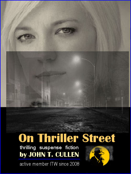 On Thriller Street novels Jean-Thomas Cullen writing as John T. Cullen and John Argo